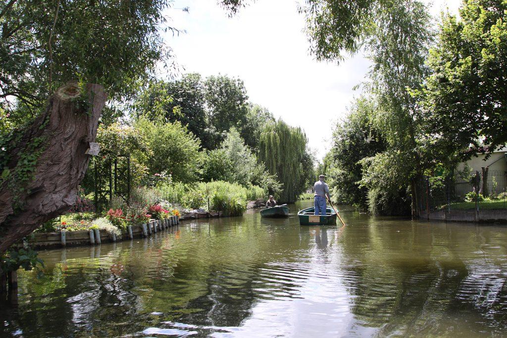 Die schwimmenden Gärten von Amiens