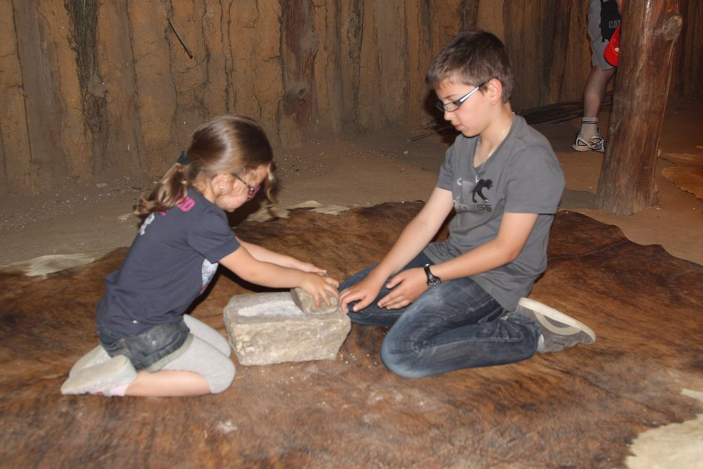 Im prähistorischen Freiluftmuseum «Samara»