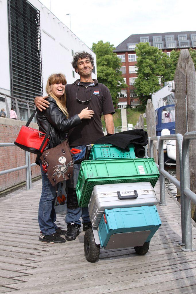 «Unser Bordelektriker» aus Holland kommt an Bord