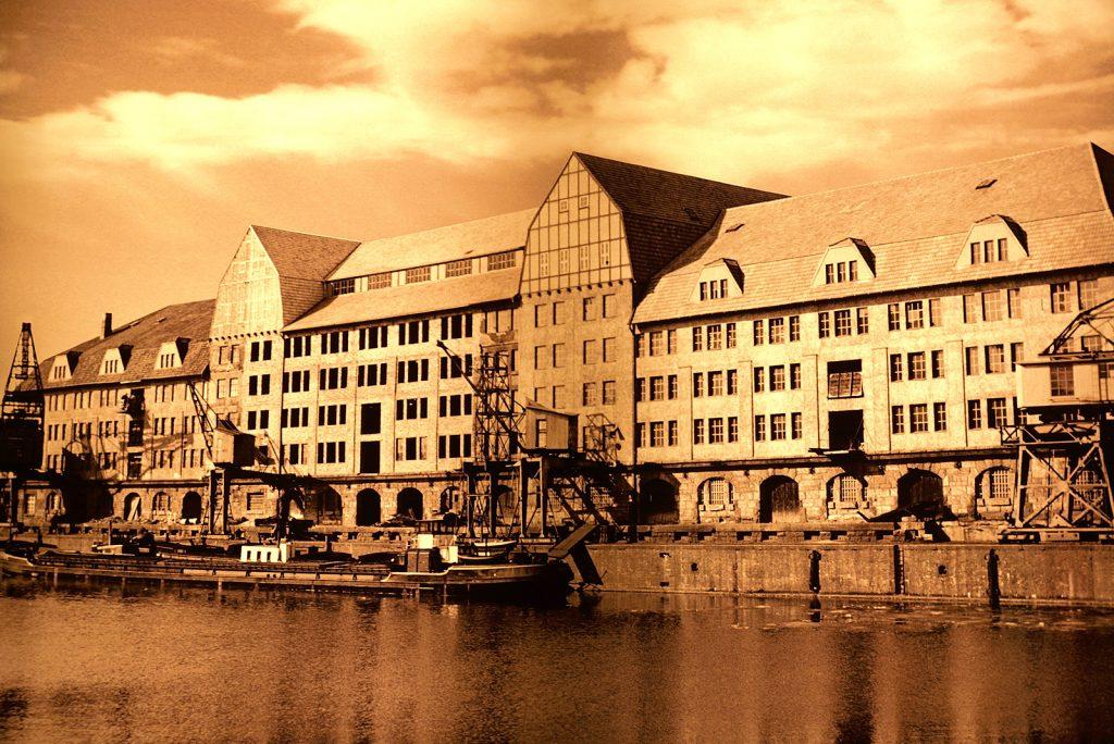 Der Hafen Berlin Tempelhof anno dazumal