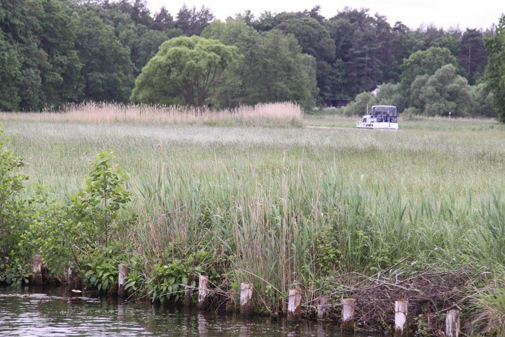 Die Obere-Havel-Wasserstrasse mäandert durch die Landschaft