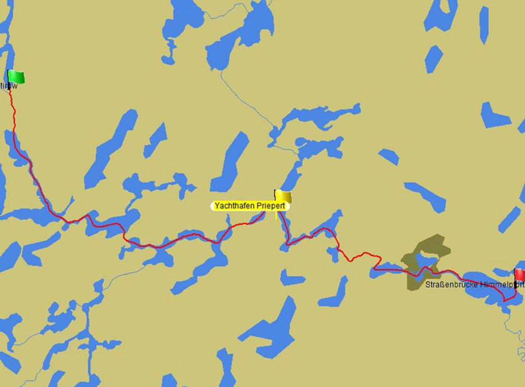 Von Himmelpfort nach Mirow