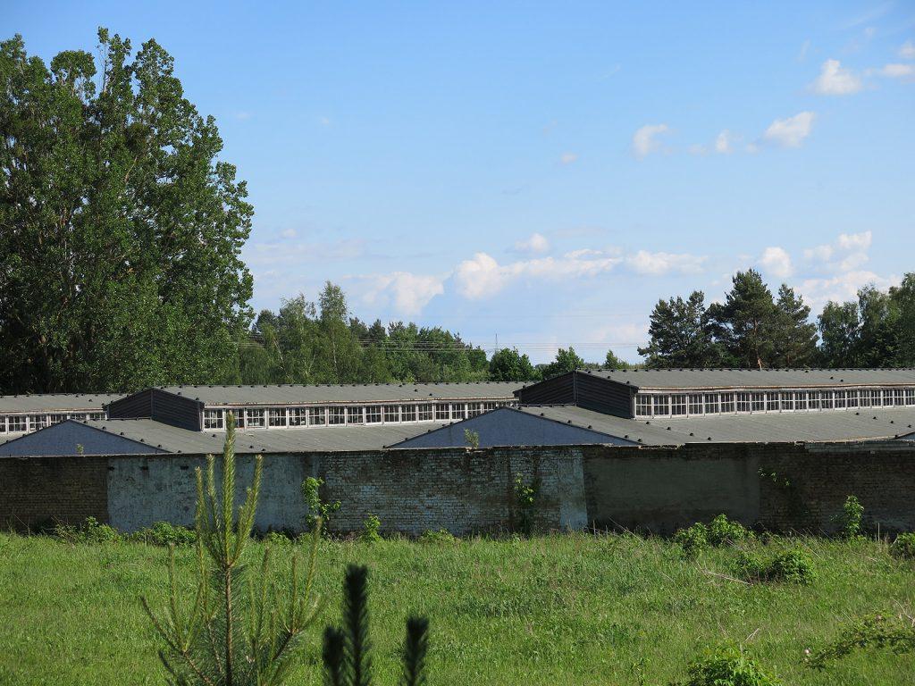 Das ehemalige Frauenkonzentrationslager Ravensbrück bei Fürstenberg