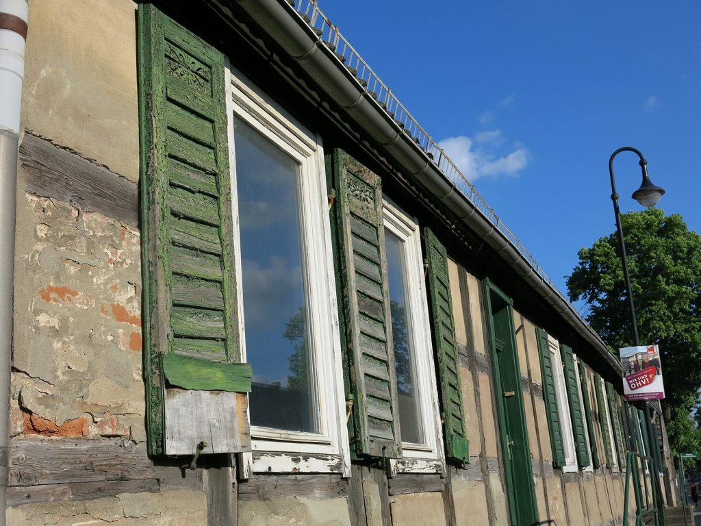 Hauszeile in Fürstenberg