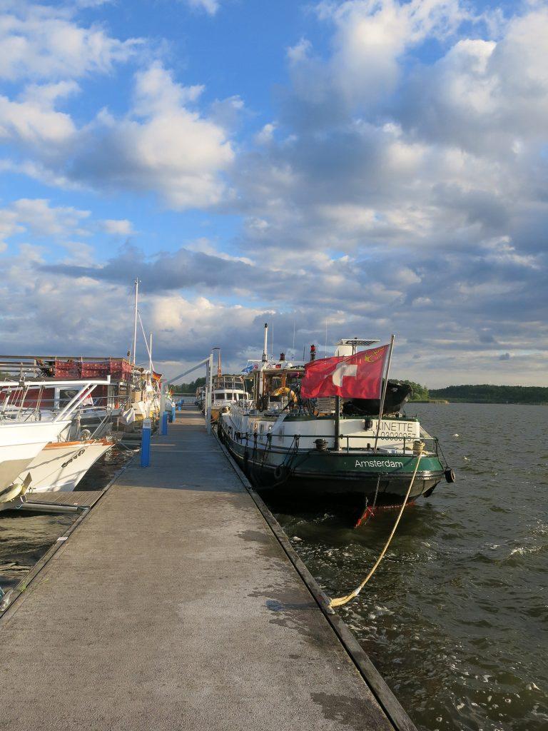 Yachthafen Rechlin an der Kleinen Müritz