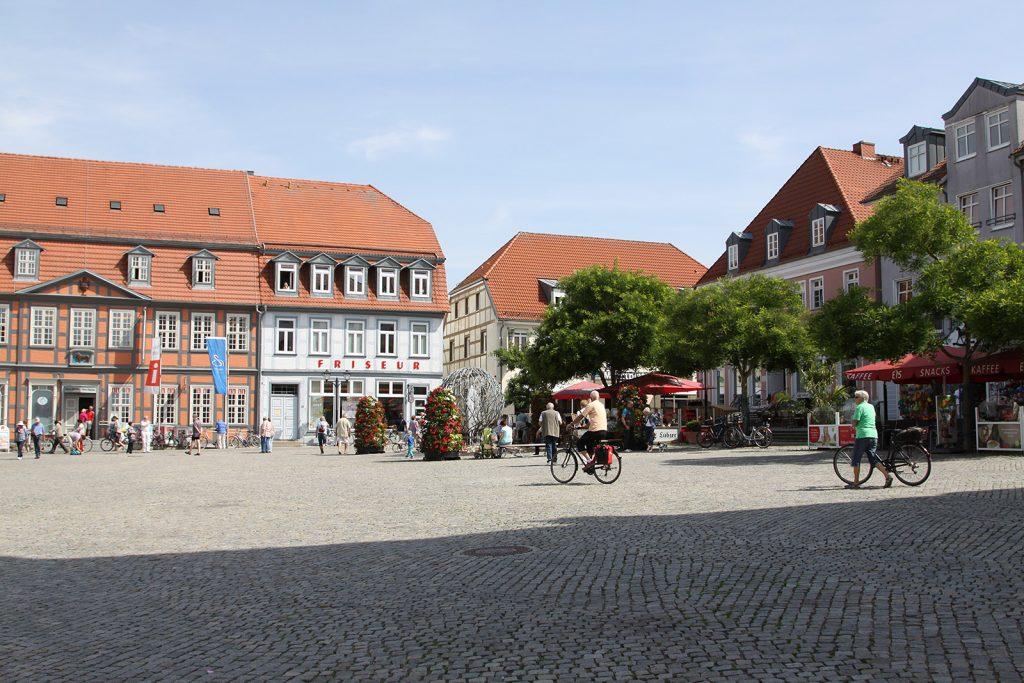 Der Marktplatz von Waren