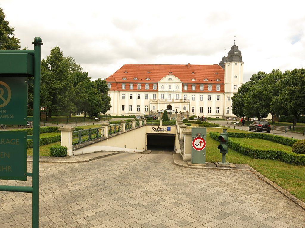 Das Radisson-Hotel in Göhren-Lebbin