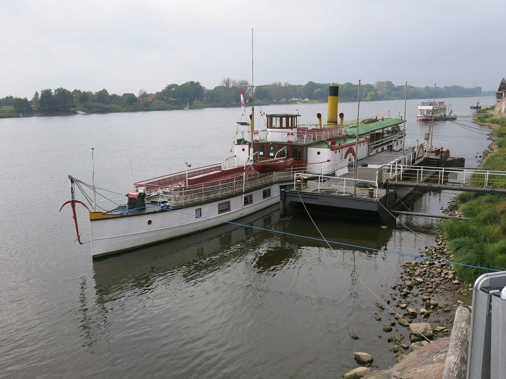 Das Ausflugsdampfschiff «Kaiser Wilhelm»