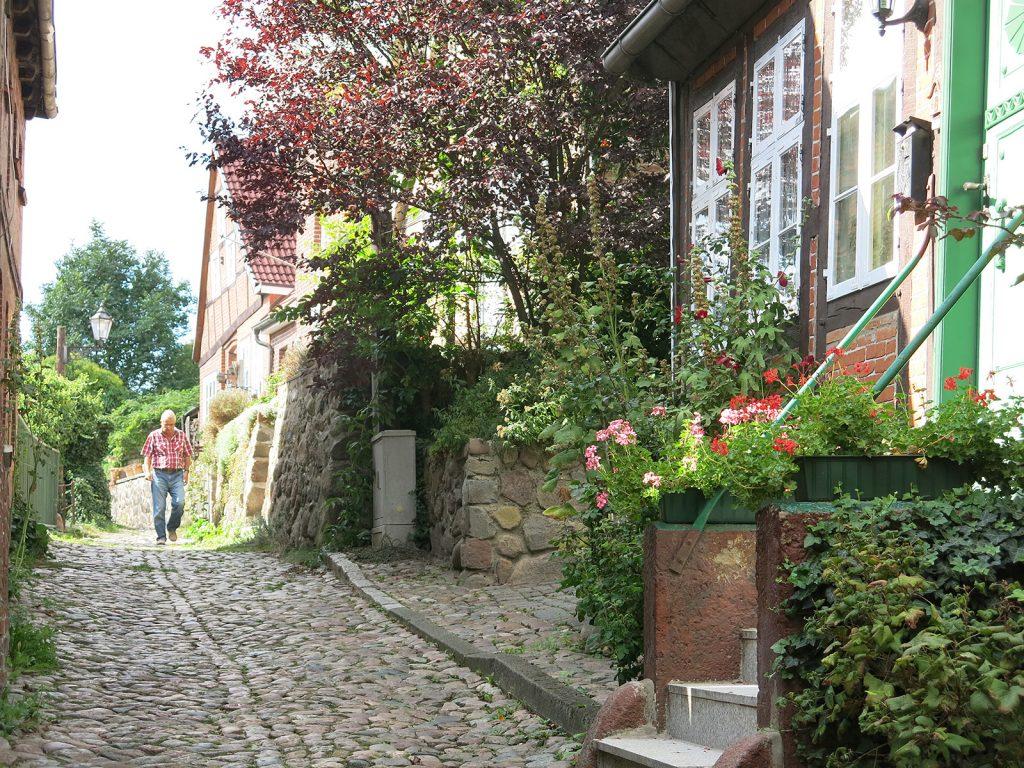 Das malerische Städtchen Lauenburg