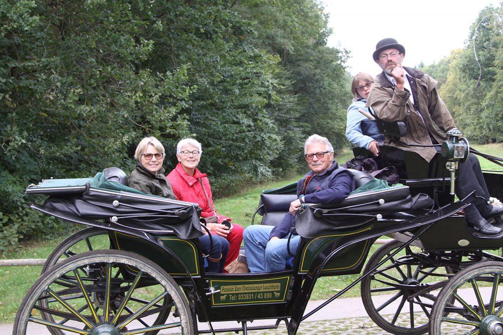 Auf Theodor Fontanes Spuren mit der Kutsche in Rheinsberg