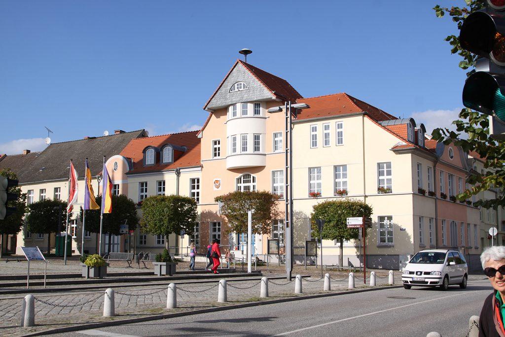 Der Rathausplatz von Fürstenberg