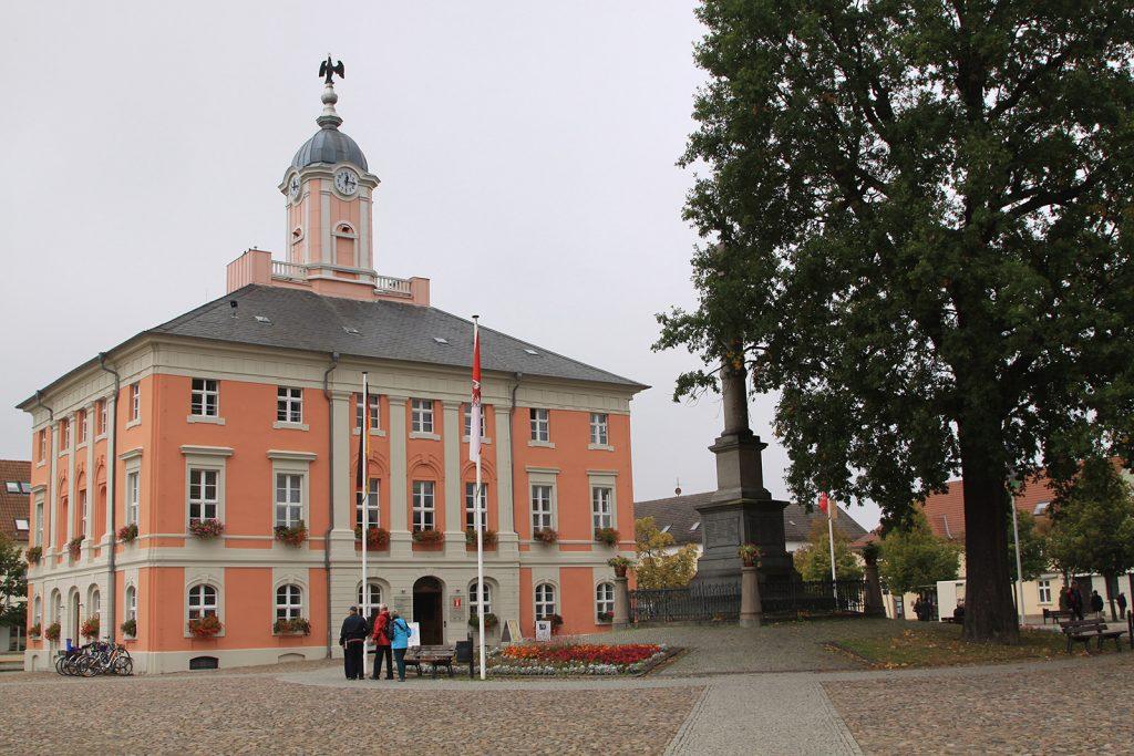 Das Rathaus von Templin