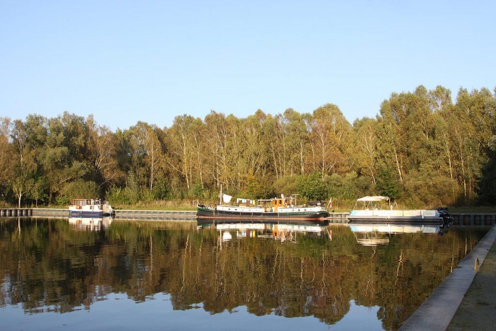 Der ehemalige Ziegeleihafen