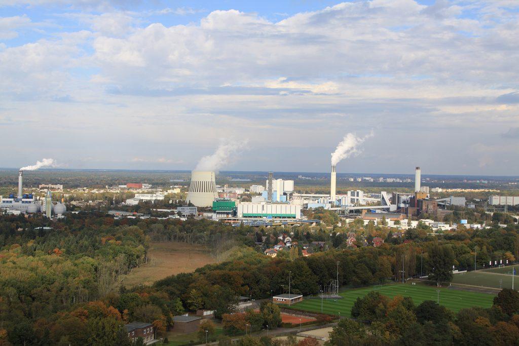Das Kohlekraftwerk Reuter in Berlin