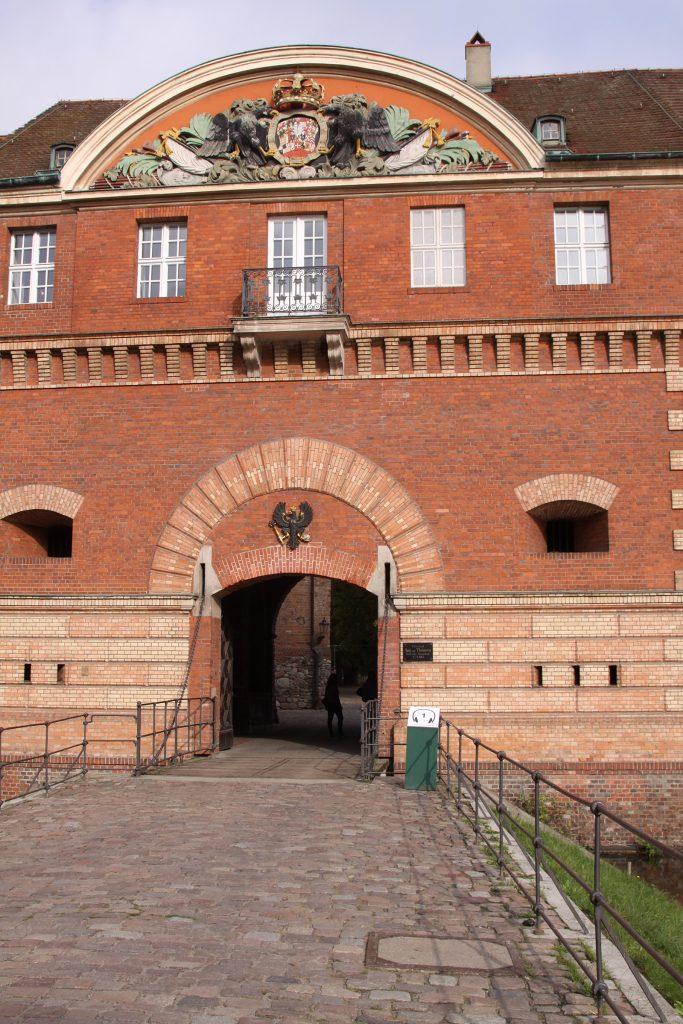 Eingang zur Spandauer Zitadelle
