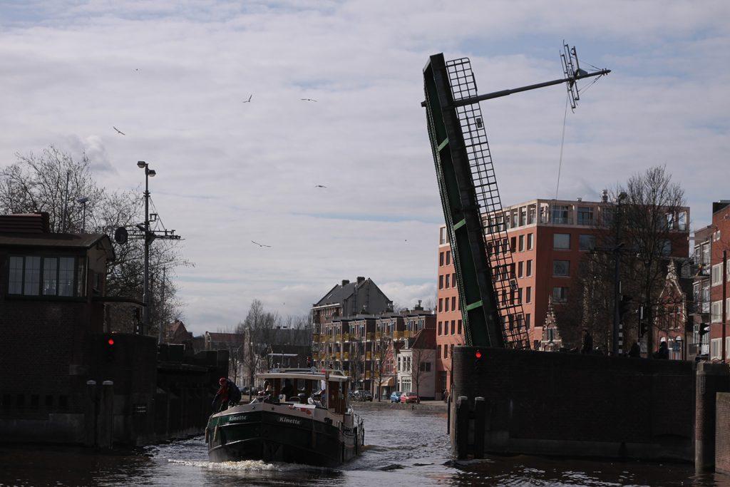 Mit Kinette durch Amsterdam