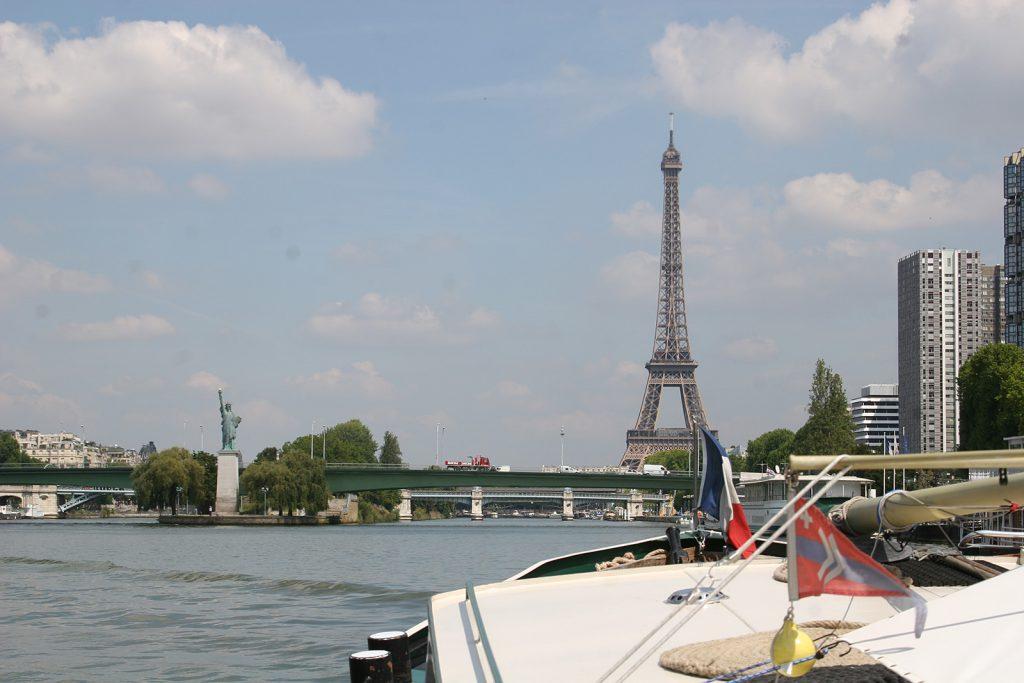 Mit Kinette auf der Seine durch Paris