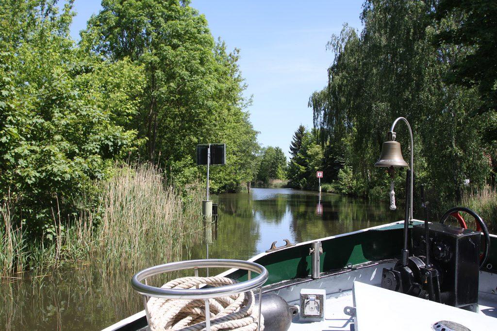 Im Storkower «Kanal»