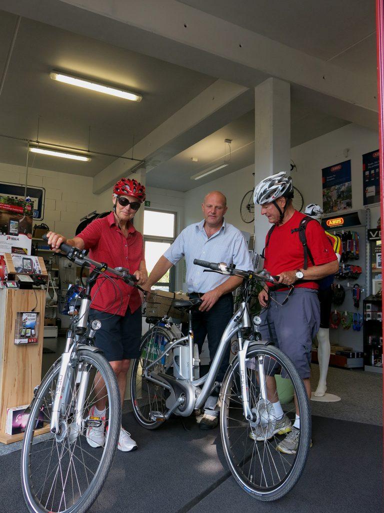 Bei Fahrrad König in Königs Wusterhausen