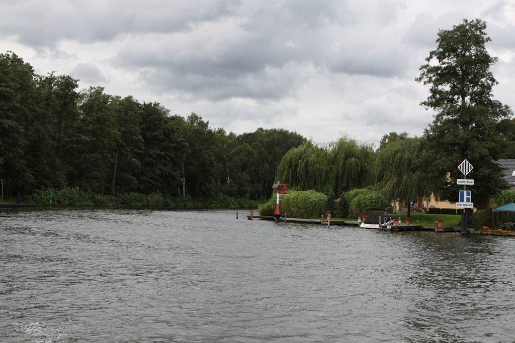 Einfahrt in den Gosener Kanal