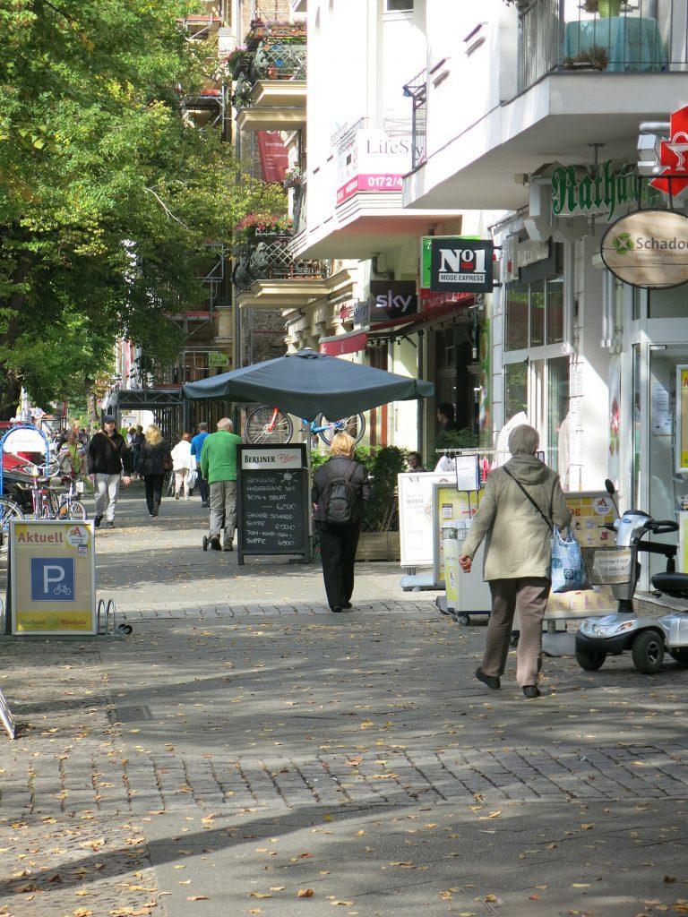 Die Bölsche Strasse in Friedrichshagen