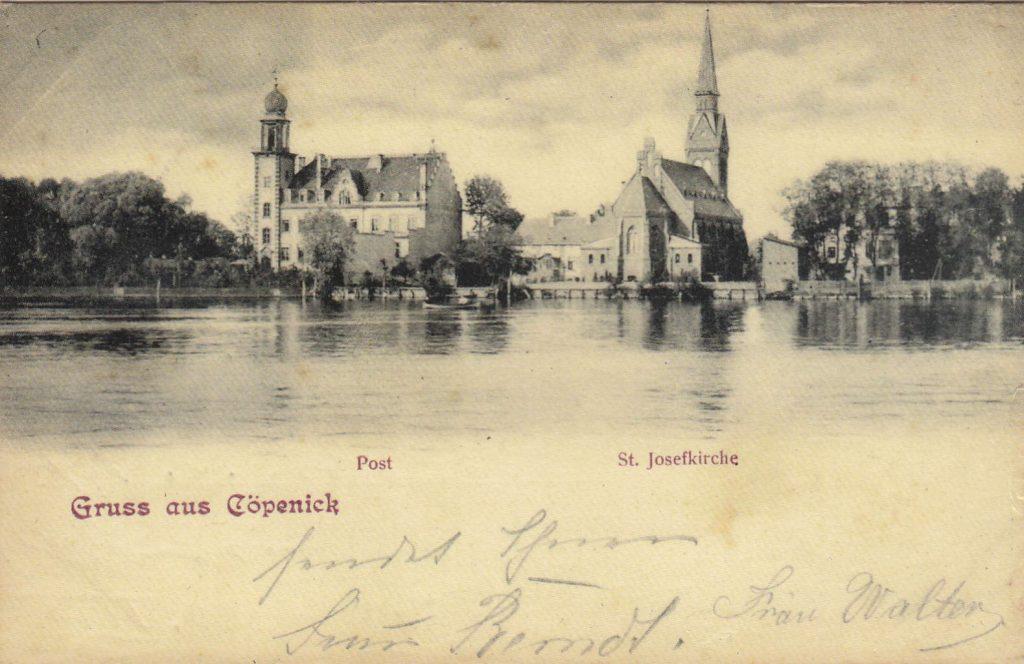 Köpenick anno dazumal (Postkarte Sammlung Christian Huber)