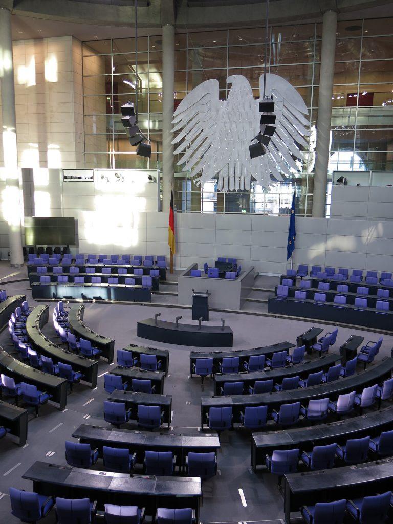 Hier tagt der Bundestag