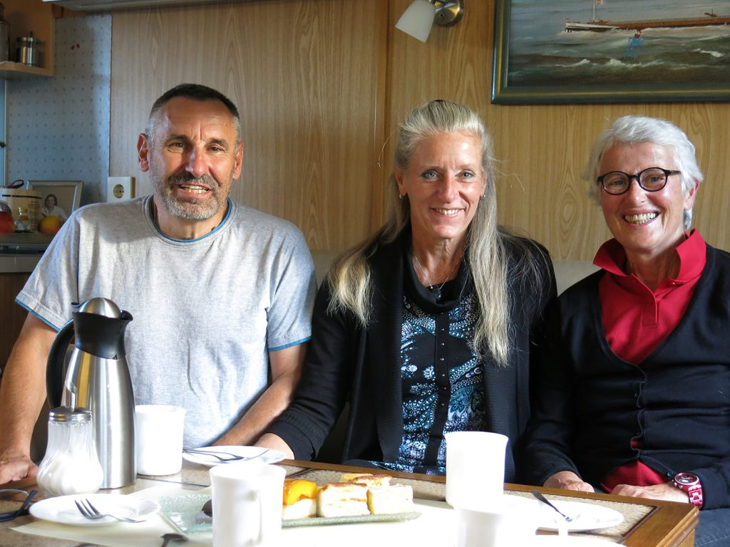 Willi und Dagmar Westphal mit Charlotte