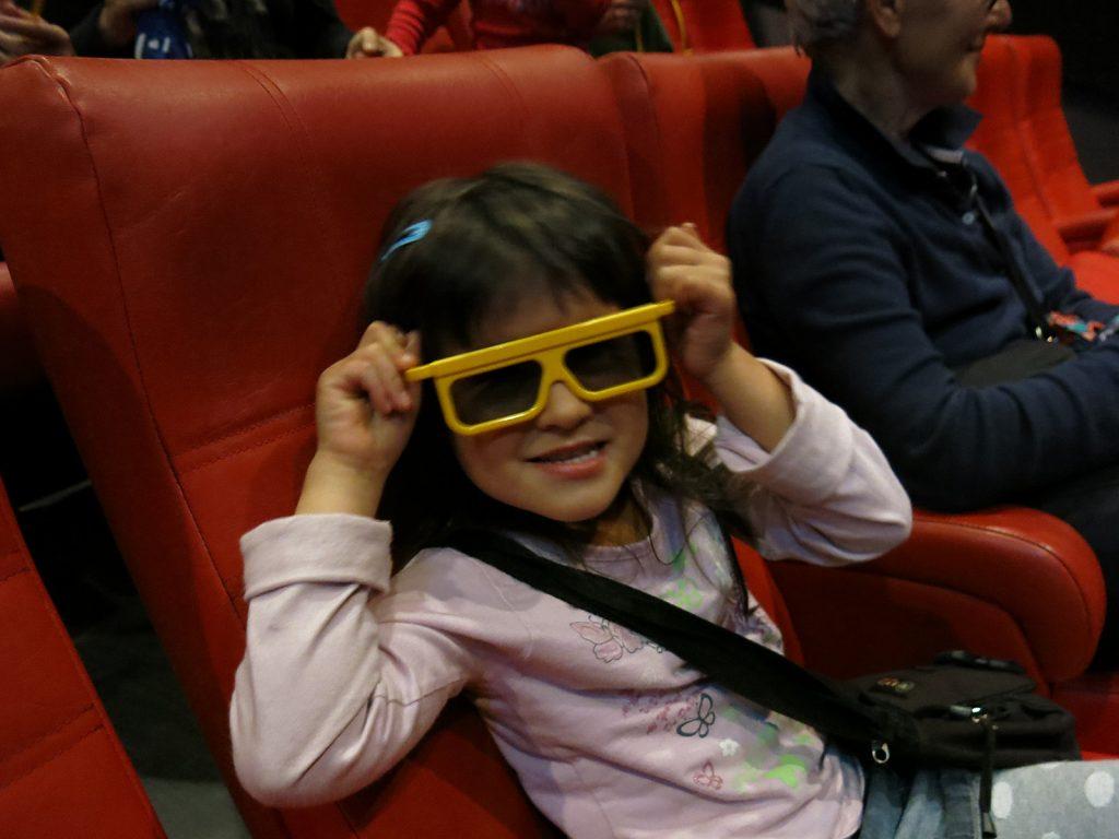 Im 4-D-Kino