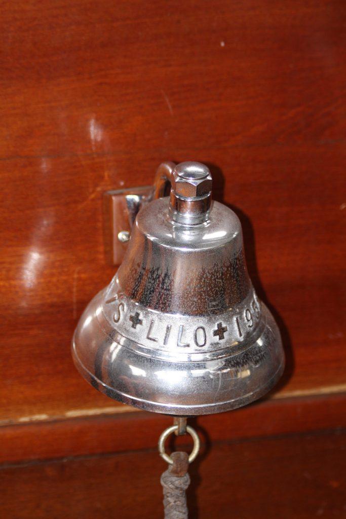 Die Original-Schiffsglocke der «Lilo»