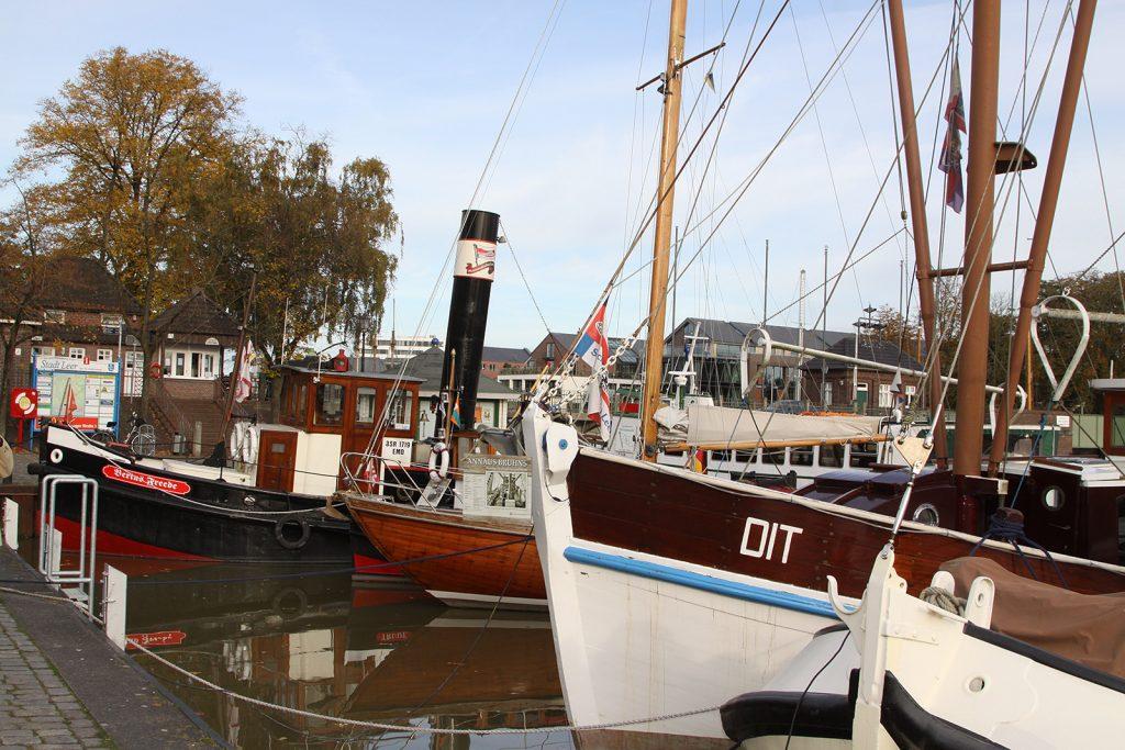 Der historische Hafen Leer
