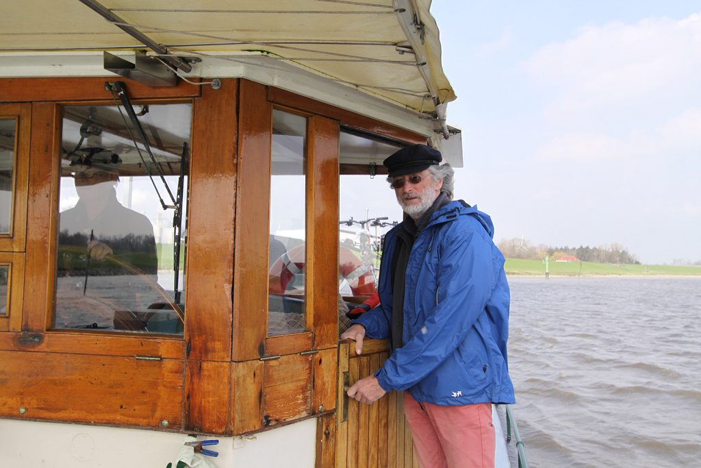 Mit an Bord: Bernhard Kiessetz