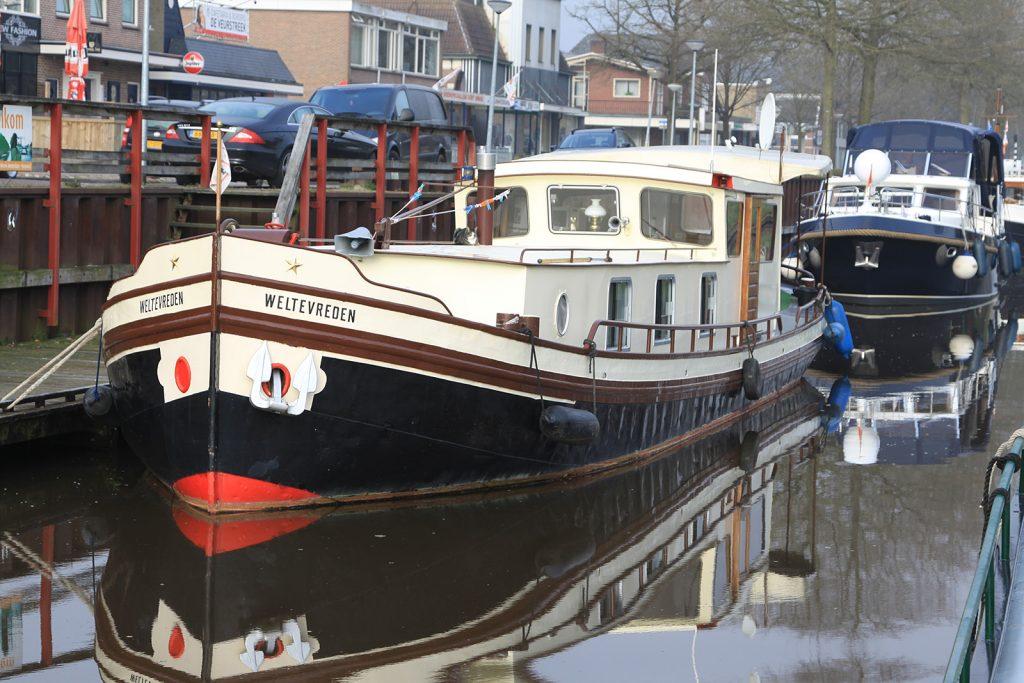 Die «Weltevreden» in Nieuw Amsterdam