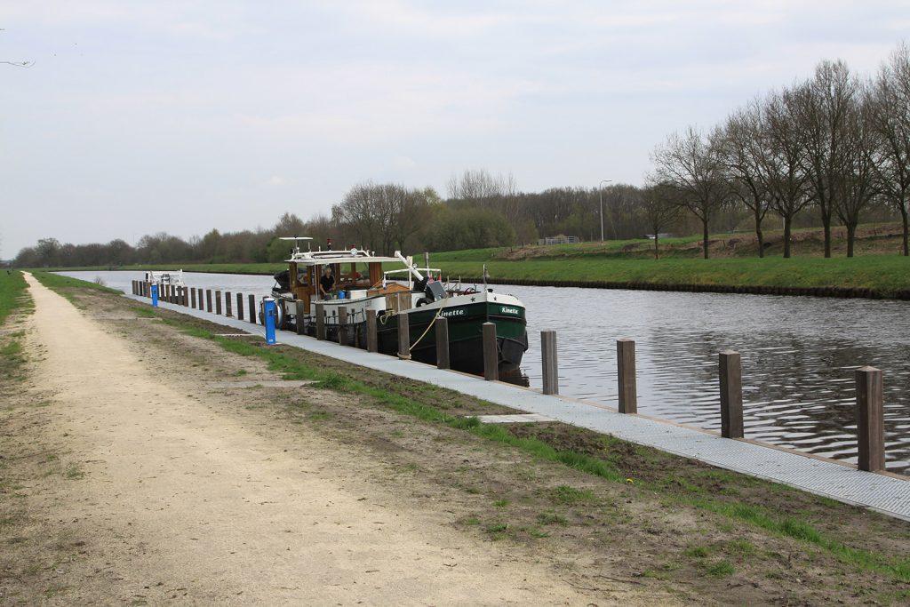 Der neue Schiffsanleger von Hoogeveen