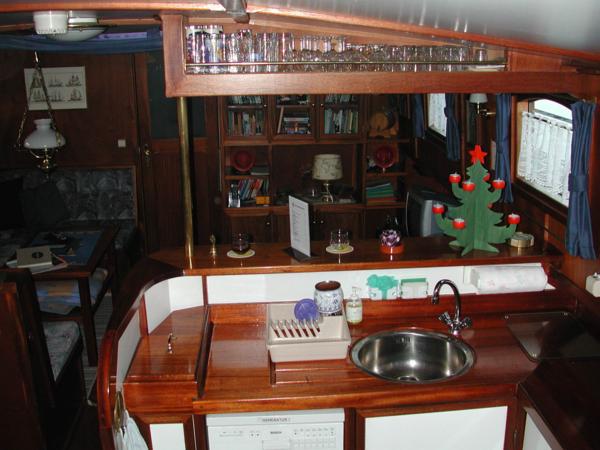 Sicht von der Küche