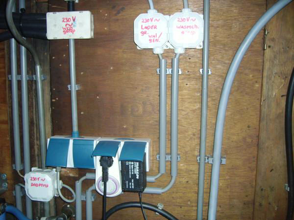 Part of electric installation I